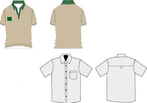 t shirt uniformes de trabajo descargar vectores gratis