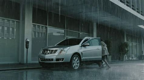cadillac commercial celebrities 2013 cadillac srx tv commercial rainy run song by