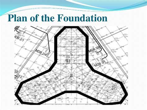 Floor Plan Of Burj Khalifa foundation deisgn of burj khalifa