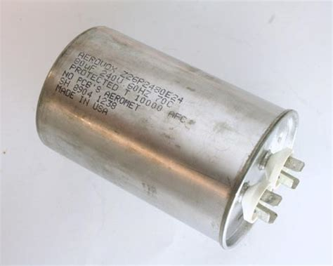 run capacitor specifications 1x 80uf 240vac motor run capacitor 240v ac 80 mfd 80mfd 240 volts unit ebay