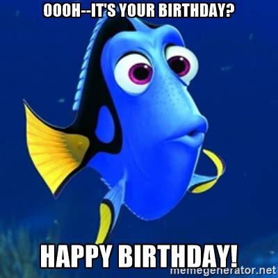 Disney Birthday Meme - happy birthday meme gif dory google search birthday