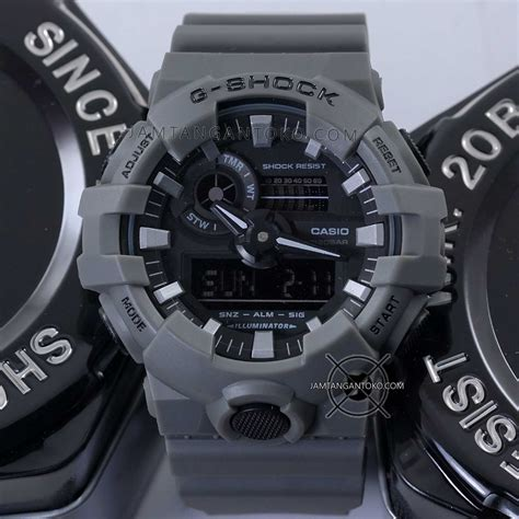 Casio Gshock Ga120 Ori Bm g shock ga 700uc 8a abu abu ori bm toko jam tangan