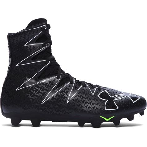 armour american football shoes armour highlight mc 2 0 boa s football cleat black