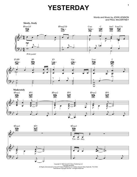 tutorial piano yesterday piano yesterday piano chords yesterday piano yesterday