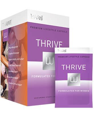 thrive w supplement thrive w thrive supplement for le vel