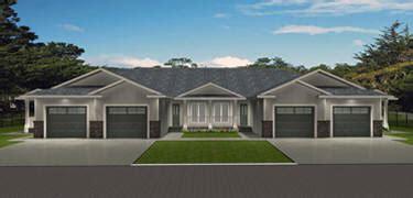Fourplex Plans stock 4 plex plans modified or custom fourplex home plans for