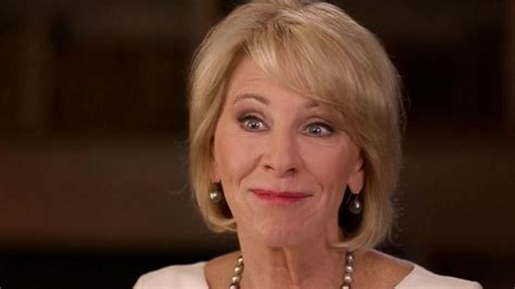 betsy devos interview betsy devos struggles in interview on education video