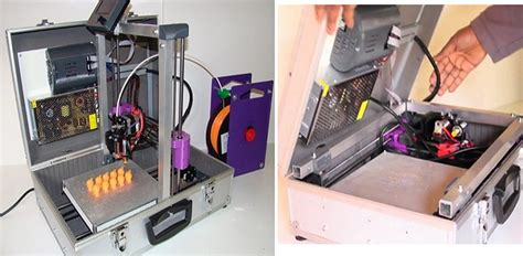 Mobile Printer 3d teebot the mobile 3d printer in a suitcase now on kickstarter 3dprint the voice of 3d