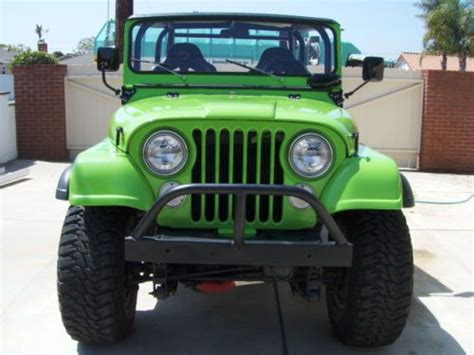 buy used 1975 used manual 4 speed v8 l82 t tops leather ps pb pw ac loaded in stuart buy used 1974 jeep cj5 4x4 304 v8 3 speed manual transmission excellent in provo utah united