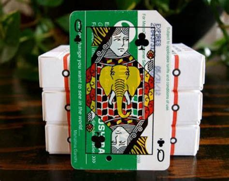 Metro Gift Card - metrodeck upcycled playing cards using old nyc metro cards freshness mag