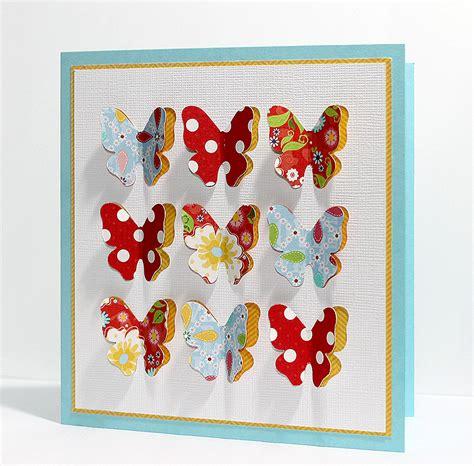 butterfly card 3d butterfly card free cut file