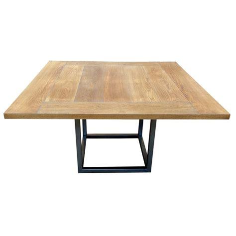 table salle a manger carree 140x140 table de salle 224 manger duetto rallonges d 233 co en ligne