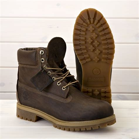 timberland 6 inch classic leather boot brown boots