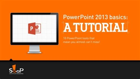 Tutorial Powerpoint To Video | power point 2013 basic a tutorial