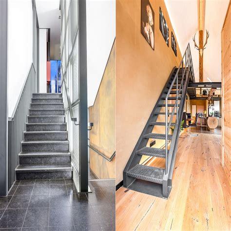 stahltreppe innen betontreppe und stahltreppe im vergleich stadler