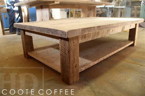Coffee Tables Ontario Reclaimed Wood Coffee Table In Toronto Ontario Home