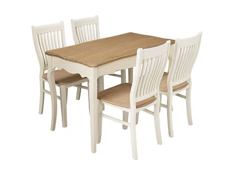 4 Seat Dining Table And Chairs Wood Finish Dining Table And Chair Set With 4 Seats Ebay