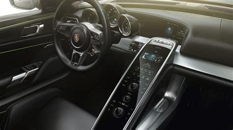 porsche electric interior wallpaper porsche 918 spyder hybrid elecric cars best