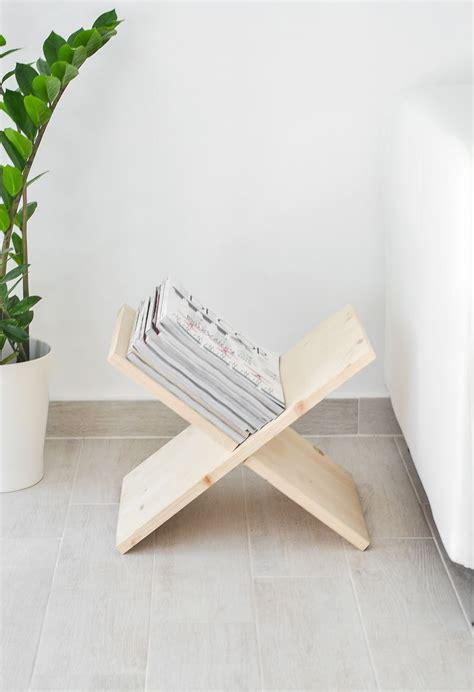diy magazine holder for bathroom diy wooden magazine holder