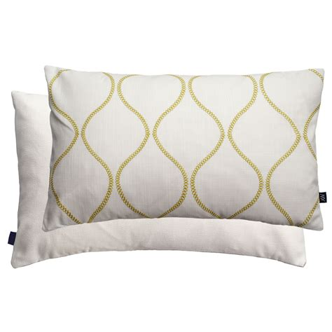 feather filled sofa cushions ashley wilde waves embroidered feather filled scatter