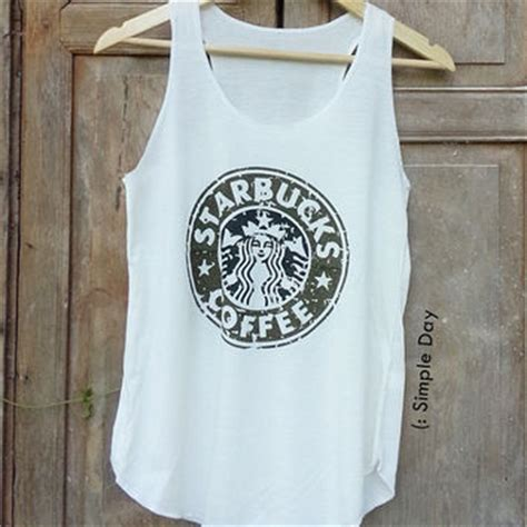 Tangtop Starbuck best starbucks clothes products on wanelo