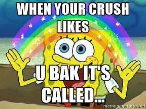 Imagination Meme - spongebob imagination crush meme