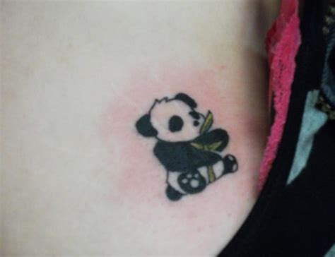 panda tattoo cute cute tiny panda tattoo on pubic area tattoos photos
