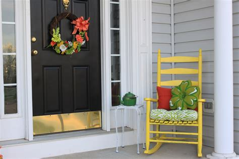 Colorful Porch Afternoon Artist Yellow Front Door Feng Shui