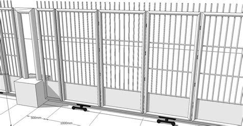 jual pintu pagar brc harga murah jakarta oleh cv givro