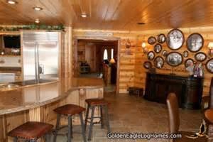 Western Theme Decorations For Home Golden Eagle Log Homes Design Ideas Log Home Kitchens