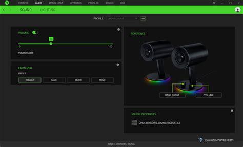 M Tech Headset Stereo A5 Biru razer nommo chroma review australian review pc gaming