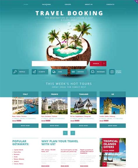 travel agency html template 70 best travel website templates free premium