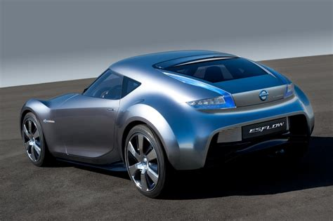 electric sports cars nissan esflow electric sports car concept nav blog