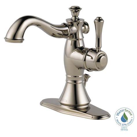 bathtub faucet assembly delta cassidy single hole single handle bathroom faucet