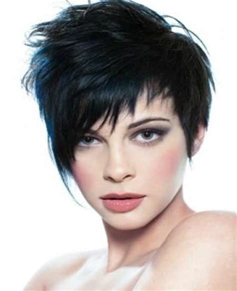 long feathered pixie cut short feathered hairstyles for thick hair the newest