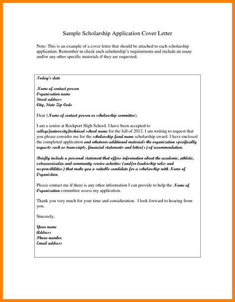 exle of application letter with resume 8 exles of application letter for scholarship emt resume