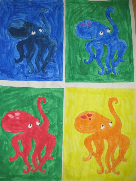painting color schemes andy warhol color scheme paintings mrs clegg s class blog