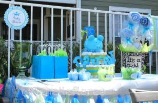 Decorating For Baby Shower Boy - baby shower for a boy decoration table with diaper cake and basket babyshower diapercake