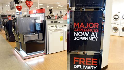 jcpenney kitchen appliances jcpenney in abingdon adds major appliance showroom sun