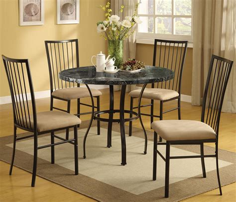 dream home interiors kennesaw acme furniture darell 5 piece faux marble dining set with
