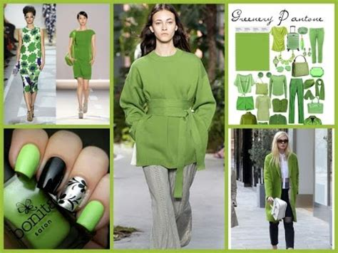 2017 color of the year fashion pantone color of the year 2017 greenery fashion