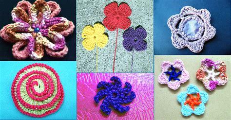 flores de crochet pin flores en crochet on pinterest