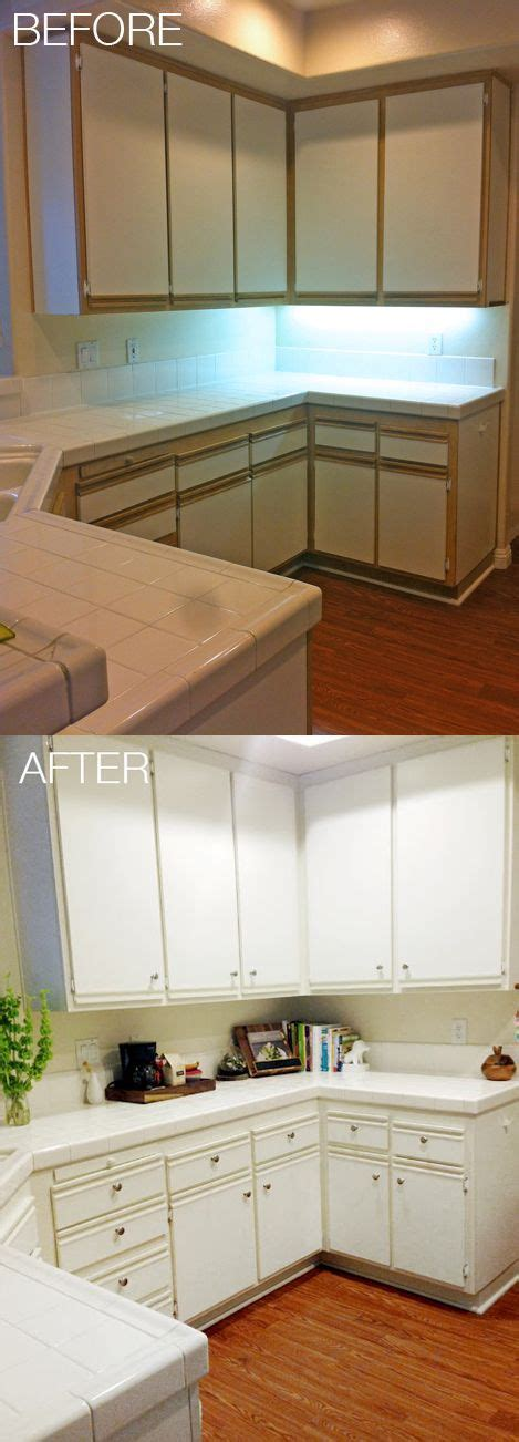 laminate kitchen cabinets makeover best 25 updating 70s house ideas on brick