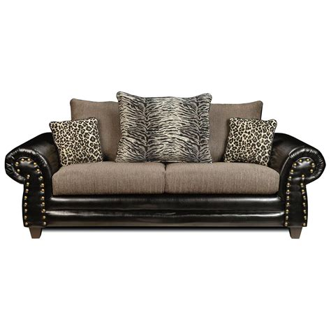 animal print couches colbie transitional sofa leopard tiger print pillows