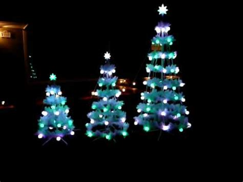 musical christmas trees with lights youtube
