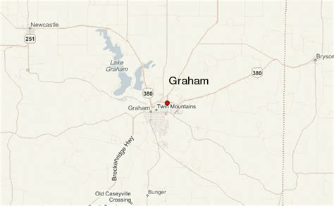 map of graham texas graham texas location guide