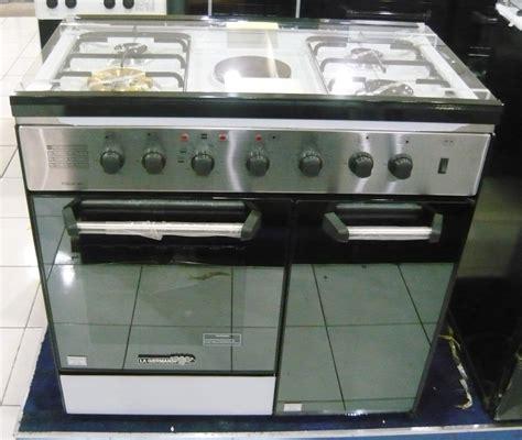 Oven Gas La Germania la germania 4 gas 1 electric hotplate electric oven