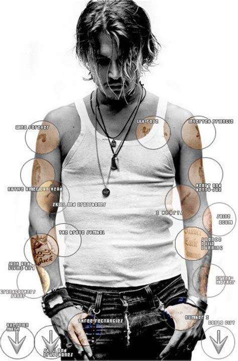 johnny depp neues tattoo johnny depp his tattoos photos pinterest jack o