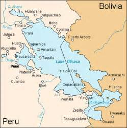 map of lake titicaca in south america peru titicaca lake