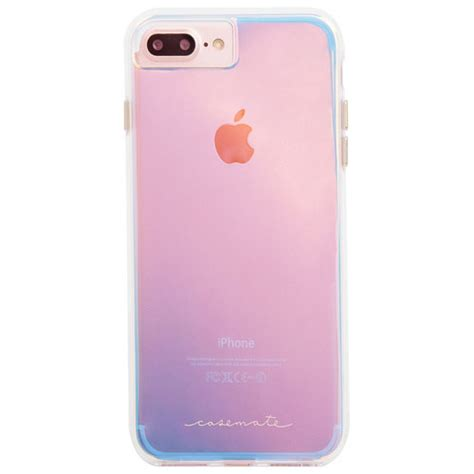 mate tough iphone 7 8 plus fitted shell iridescent clear iphone 8 7